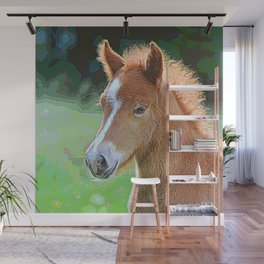 AnimalPaint_Horse_20171201_by_JAMColorsSpecial Wall Mural