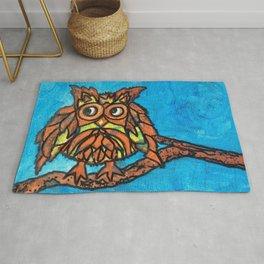 Little owl Rug