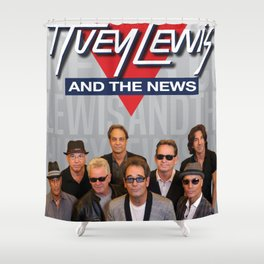 HUEY LEWIS AND THE NEWS LIVE TOUR DATES 2019 IJAD Shower Curtain
