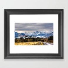 Ullswater Lake District Framed Art Print