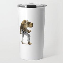 Dangerous Hippo Travel Mug
