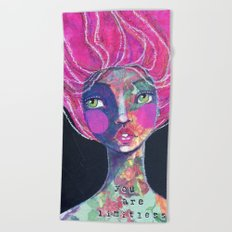 YOU ARE LIMITLESS Beach Towel