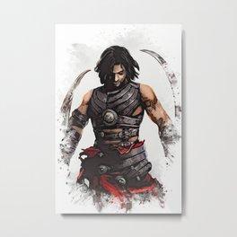 Prince of Persia Metal Print