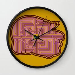 Hoggle's Labyrinth Wall Clock
