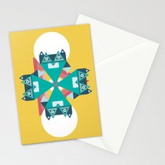 Biconic repetition Stationery Cards