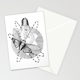 Moth to the Flame Stationery Cards