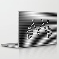 bicycle Laptop & iPad Skins featuring Bicycle by AndISky