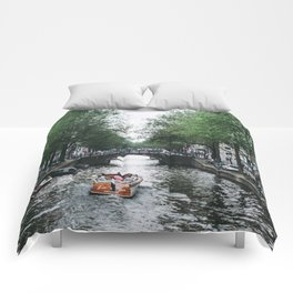 Canal Cruise Comforters