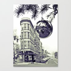 Downtown decoration Canvas Print