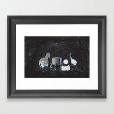 Now in Technicolour... Framed Art Print