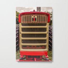 International Grill Farmall Tractor Front  Metal Print