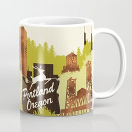 Portland, Oregon Coffee Mug