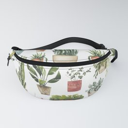 Potted Succulents Fanny Pack