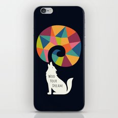 Woo Your Dream At Night iPhone Skin