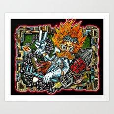 heimerdinger color variant Art Print