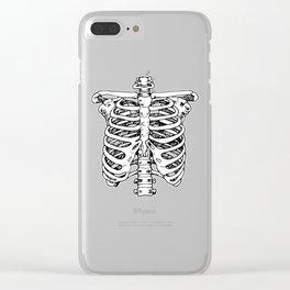 Funnybones Clear iPhone Case