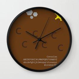 FAR WEST - FontLove Wall Clock