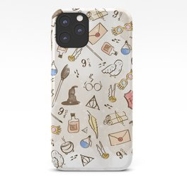 Wizarding Pattern iPhone Case