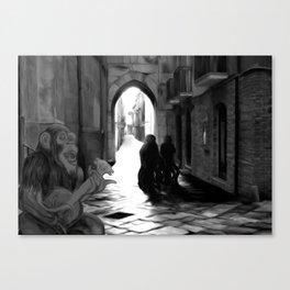 The Octochimp Minstrel Canvas Print
