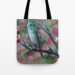 Cockateal Tote Bag