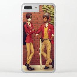 PotO High School AU Clear iPhone Case