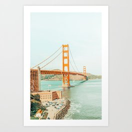 Golden Gate #architecture #california #travel Art Print
