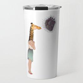 Giraffe Girl Travel Mug