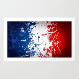 FRENCH--Flag  [FRANCE] Art Print