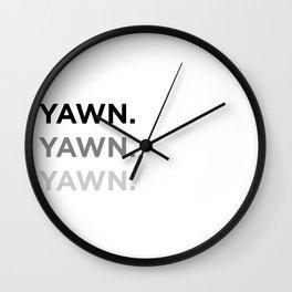 Subliminal Messaging Wall Clock