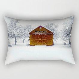 Cedar Snow Rectangular Pillow