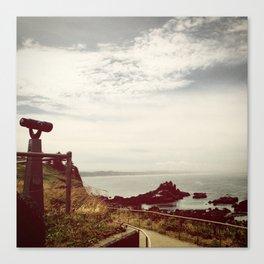 Oregon Coast, viewfinder Canvas Print