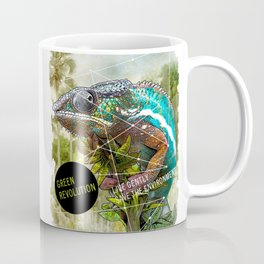 CHAMELEON: green revolution Coffee Mug