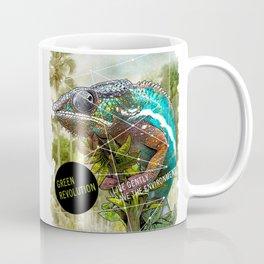 CHAMELEON: green revolution Coffee Mug