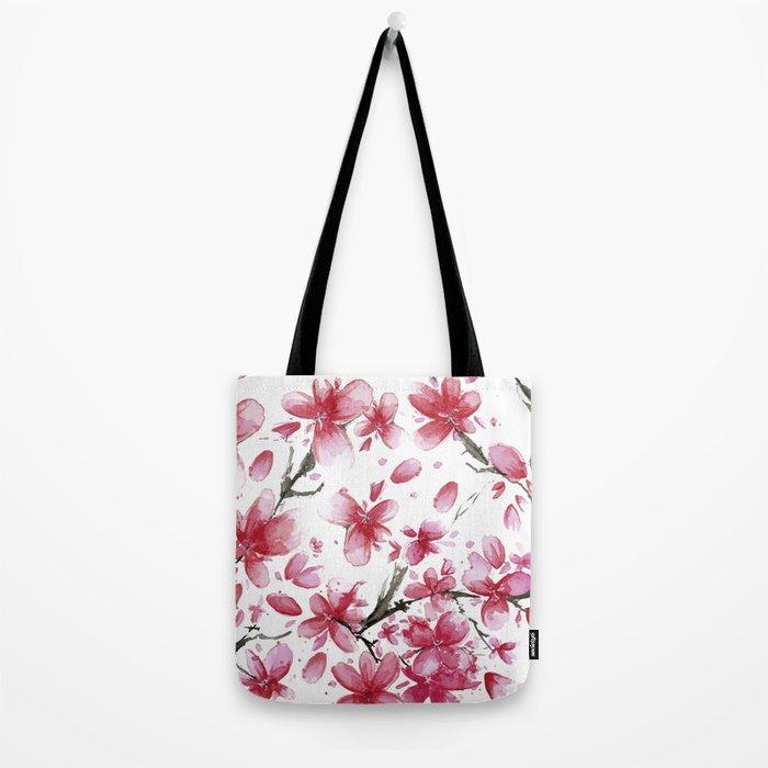 Cherry Blossoms #society6 #buyart Tote Bag