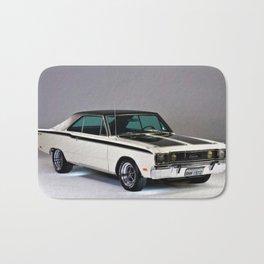 1971 Brazilian MOPAR Charger RT Rare Muscle Car Bath Mat