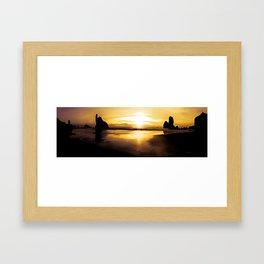 New Zealand  West Coast  Motukiekie Beach Framed Art Print