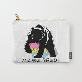 Mama Bear Pansexual Carry-All Pouch