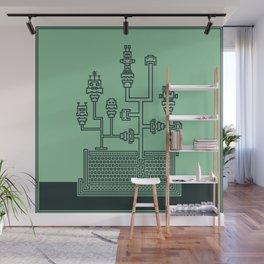 Planticular Robotic Wall Mural