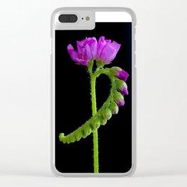Drossera Clear iPhone Case