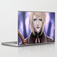 samurai Laptop & iPad Skins featuring Samurai by Lily Art