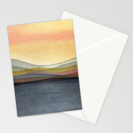 Trippy Landscape 3 Stationery Cards