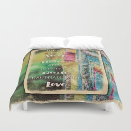 Sleep Beneath Heaven Above Quilt Duvet Cover
