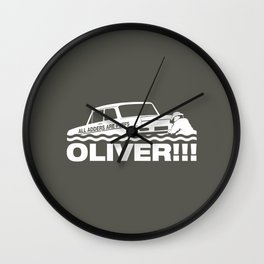Top Gear: Oliver Wall Clock
