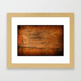 Wood Texture 340 Framed Art Print