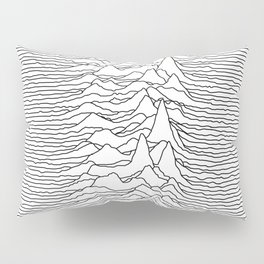 Unknown Pleasures - White Pillow Sham