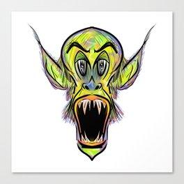 Swamp Monster Canvas Print