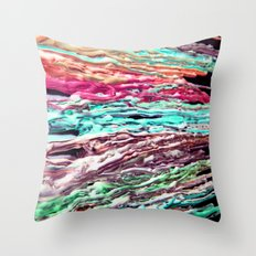 Wax #5 Throw Pillow