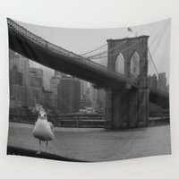 dumbo Wall Tapestries featuring dumbo by Gray