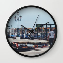 Out for a ride Wall Clock