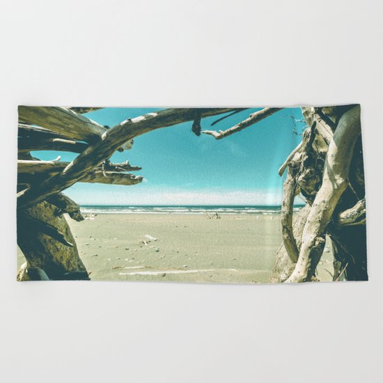 Drift Wood Castle Beach Towel